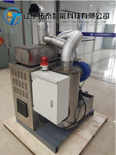 山西试验焦炉尾气环保净化装置